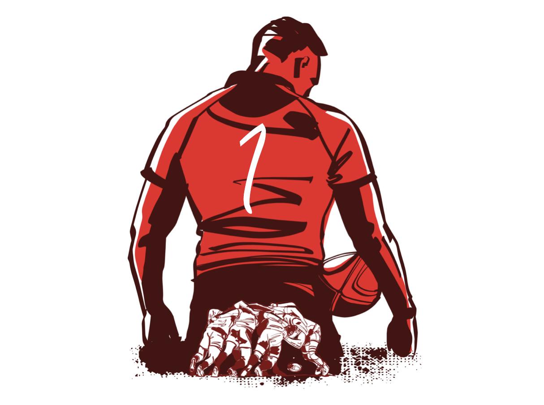 プロップとは|ラグビーのポジション役割解説【PR/背番号1番と3番】
