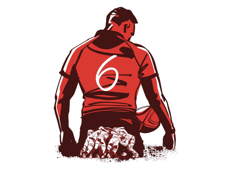 フランカーとは|ラグビーのポジション役割解説【FL/背番号6番7番】