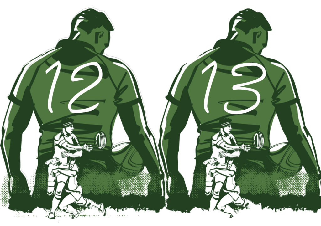 センターとは|ラグビーのポション役割解説【CTB/背番号12番13番】